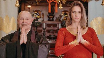 Monja Coen e Fernanda Lima